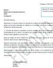 Carta de entrega de documentos recibido por RPI